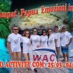 Info WAC 05-2018: Rientro da Raja Ampat - Papua